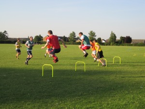 Attleborough Town FC Pre season Training